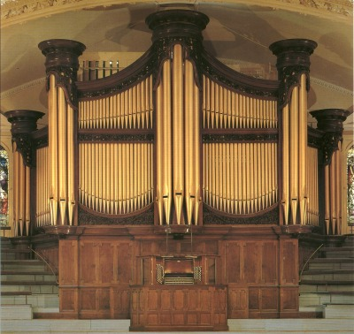 The Binns organ in the Albert Hall, Nottingham, UK