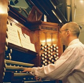Timothy Byram-Wigfield plays the Binns Organ