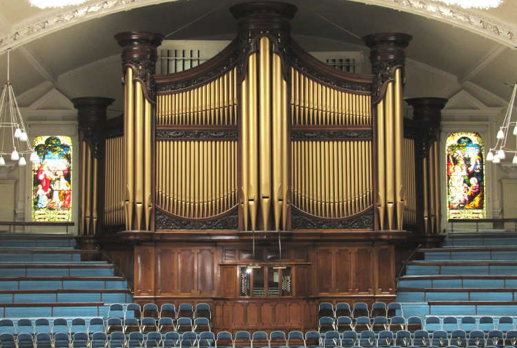 The Binns Organ in the Albert Hall, Nottingham