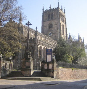 The Church of St Mary the Virgin in the Lace Market